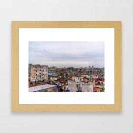 Ciudad de La Habana Framed Art Print