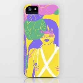 Brazilian Native Girl iPhone Case