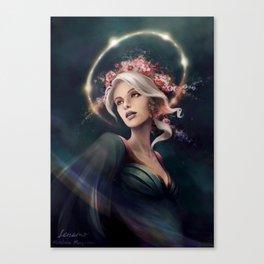 Eos, The Dawn Star Canvas Print