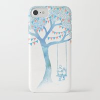 david iPhone & iPod Cases featuring The Start of Something by David Fleck
