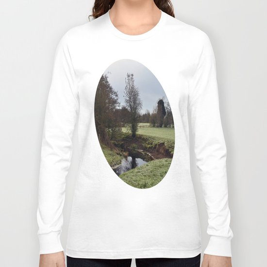 The frosty stream Long Sleeve T-shirt