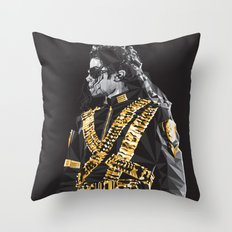 Dangerous - MJ Throw Pillow