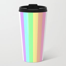 Pastel Rainbow 3 Travel Mug