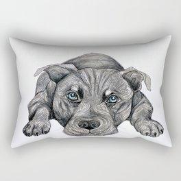 Deed, not breed... Rectangular Pillow