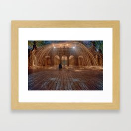 The light up Framed Art Print