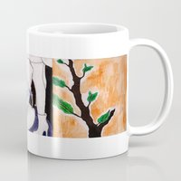 sister Mugs featuring sister by emily tea