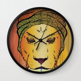 Erykah Badu Lioness Wall Clock