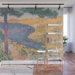 Valley with Fir (Shade on the Mountain) by Henri-Edmond Cross1909, French Wall Mural