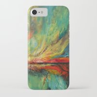 aurora iPhone & iPod Cases featuring Aurora by Michael Creese