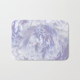 Flower Bouquet In Pastel Blue Color - #society6 #buyart Bath Mat