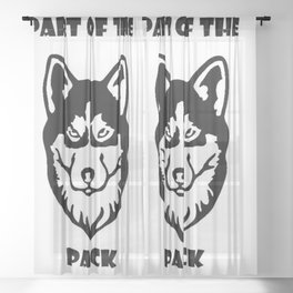Part of the Pack Sheer Curtain