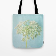 Lace in Blue Tote Bag