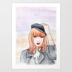 Miss P. Art Print