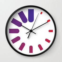 Clock Faces Hard Time Wall Clock