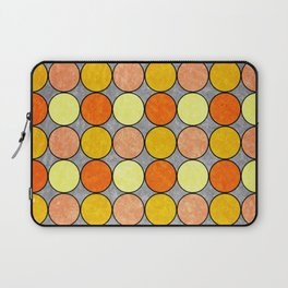 Polka Brights (yellow/orange) Laptop Sleeve