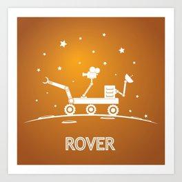 Rover Art Print
