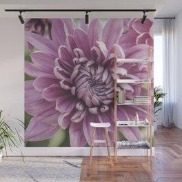 Soft Pink Mum, Nature Photography, Flower, Floral Print, Flower Print, Nature Print, Macro Art Wall Mural