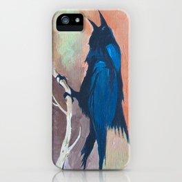 Crow Scream iPhone Case