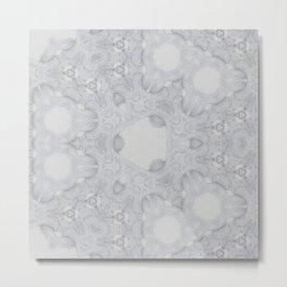 Elegant etnic geometric chineese arabic exotic soft Metal Print