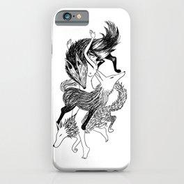 Femme Loup Tattoo iPhone Case