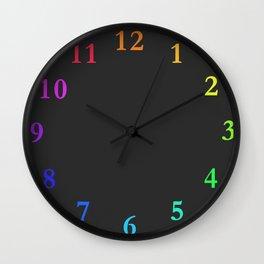 clock Chalkboard Wall Clock