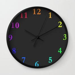clock Chalkboard Wall Clock