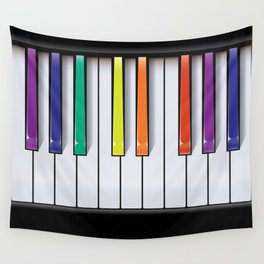 Colour Your Music Wall Tapestry