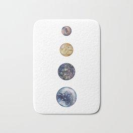 Moons of Jupiter Bath Mat