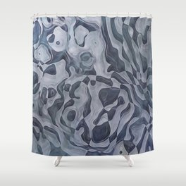Abstract Composition 359 Shower Curtain