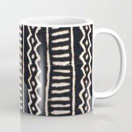 African Vintage Mali Mud Cloth Print Coffee Mug