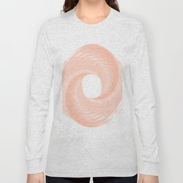 Cotton candy pink Long Sleeve T-shirt