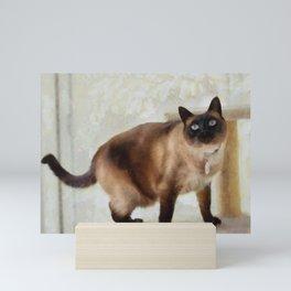 Sulley At Home Mini Art Print