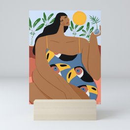 Where the wild toucans live Mini Art Print