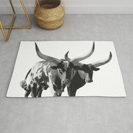 Ankole-Watusi Porttrait   African Cattle Rug