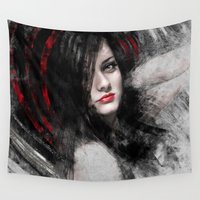 passion Wall Tapestries featuring Passion by Kanelov