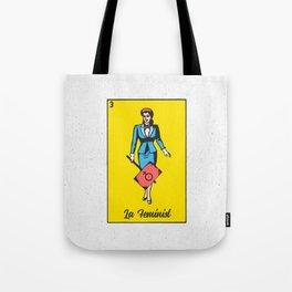 La Feminist Tote Bag