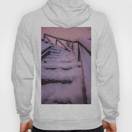 Snow covered Stairway to Heaven Hoody