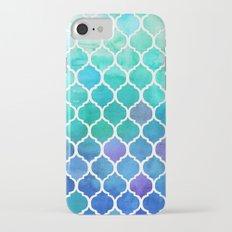 Emerald & Blue Marrakech Meander iPhone 7 Slim Case