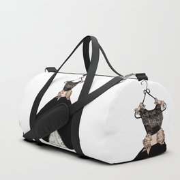 My favorite black dress Duffle Bag