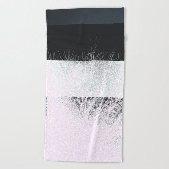 NegativiTree Beach Towel