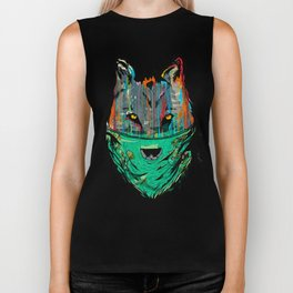 Wolf Mother - Screen Print Edition  Biker Tank