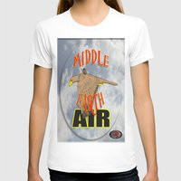middle earth T-shirts featuring darrell merrill nerd artist: middle earth air by Nerd Artist DM