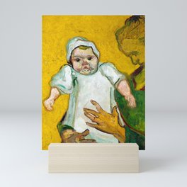 Vincent van Gogh Madame Roulin and Her Baby Mini Art Print
