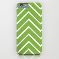 Lime Chevron iPhone 6s Slim Case