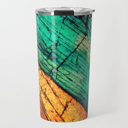 Epidote and Quartz Travel Mug