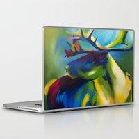 elk Laptop & iPad Skins featuring Elk by mynameiselena