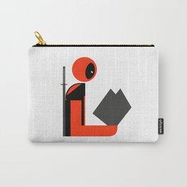 Dead Gentleman Reads Carry-All Pouch