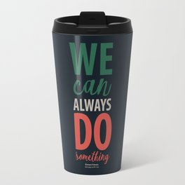 Falcone on injustices and legality - Poster Illustration for a contemporary Hero Travel Mug