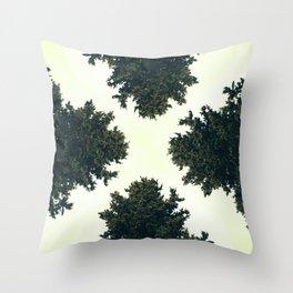 Treex ∆ Throw Pillow