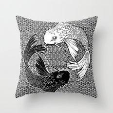 Yin &Yang Throw Pillow